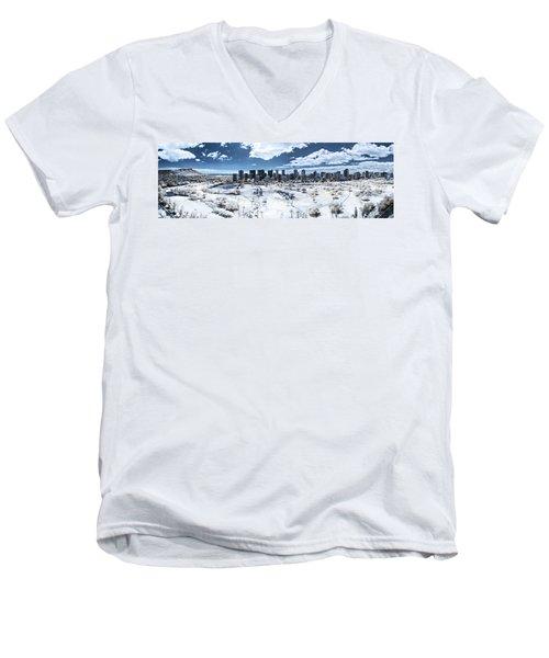 Infrared Honolulu Men's V-Neck T-Shirt