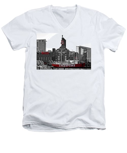 Inner Harbor Men's V-Neck T-Shirt