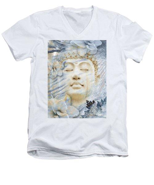 Inner Infinity Men's V-Neck T-Shirt by Christopher Beikmann