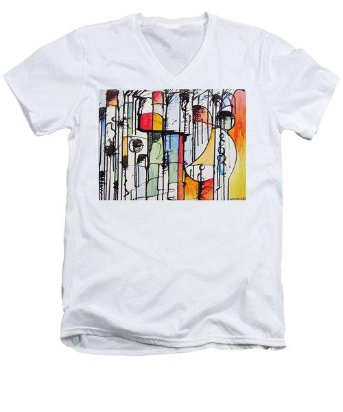 Internal Opposition Men's V-Neck T-Shirt