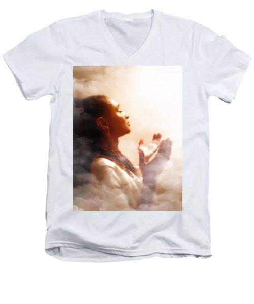 Into His Glory Men's V-Neck T-Shirt