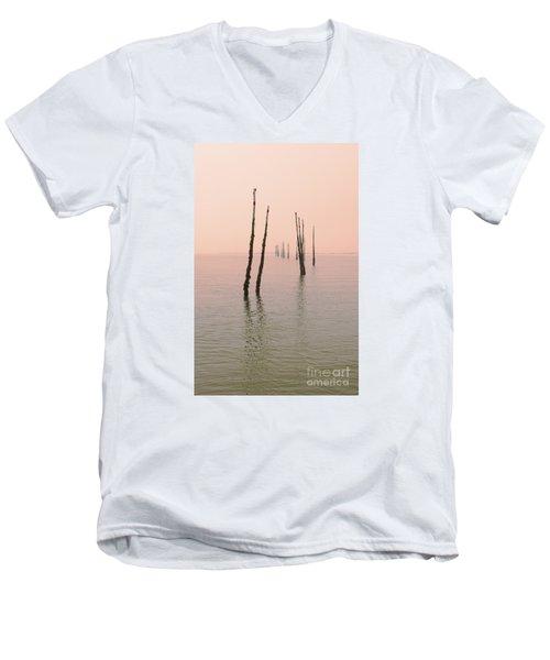 Into The Pink Sunset... Men's V-Neck T-Shirt