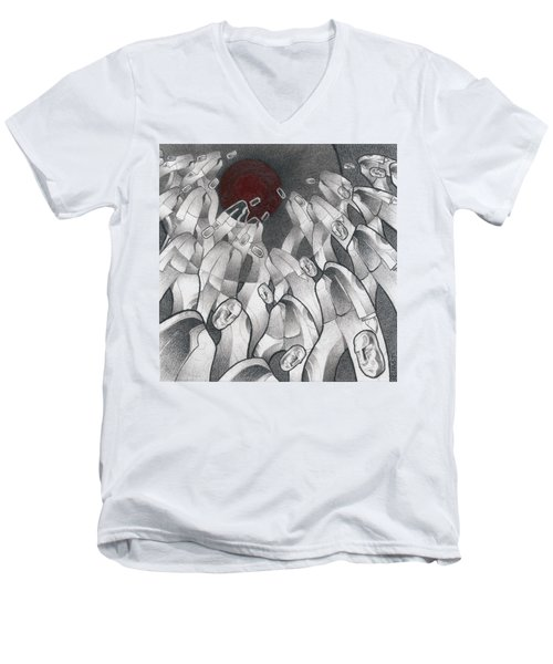 Into The Portal Men's V-Neck T-Shirt