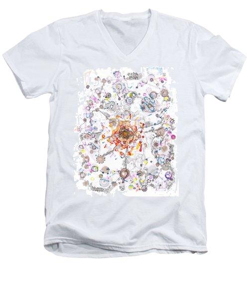 Intracellular Diversion Men's V-Neck T-Shirt