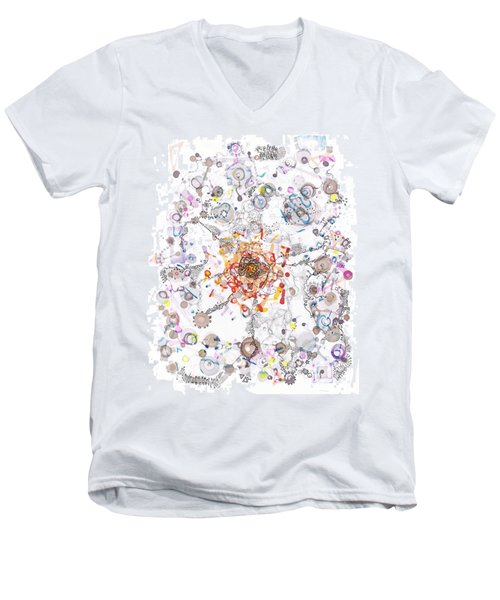 Intracellular Diversion Men's V-Neck T-Shirt