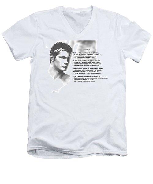 Invictus Men's V-Neck T-Shirt