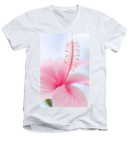 Invitation Into The Light Men's V-Neck T-Shirt by Jenny Rainbow