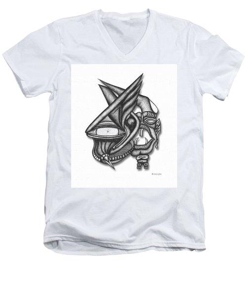 Ion Tiki Men's V-Neck T-Shirt