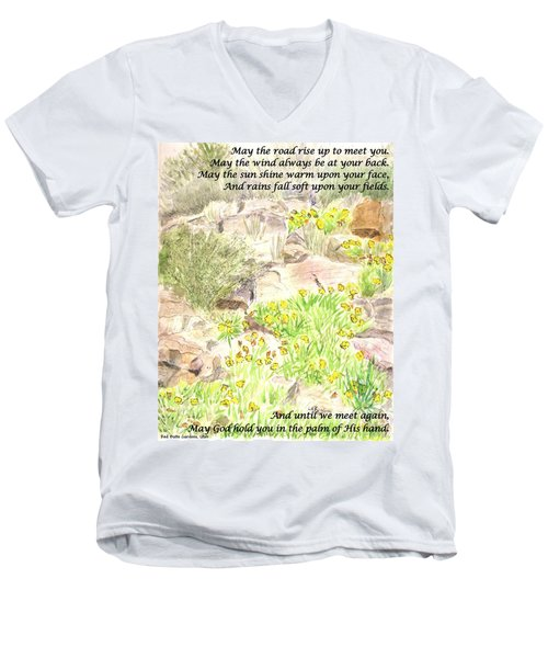 Irish Blessing Men's V-Neck T-Shirt
