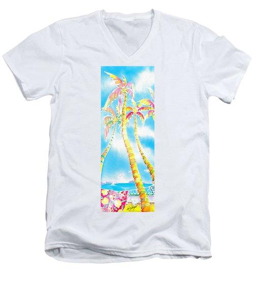 Island Breeze Men's V-Neck T-Shirt