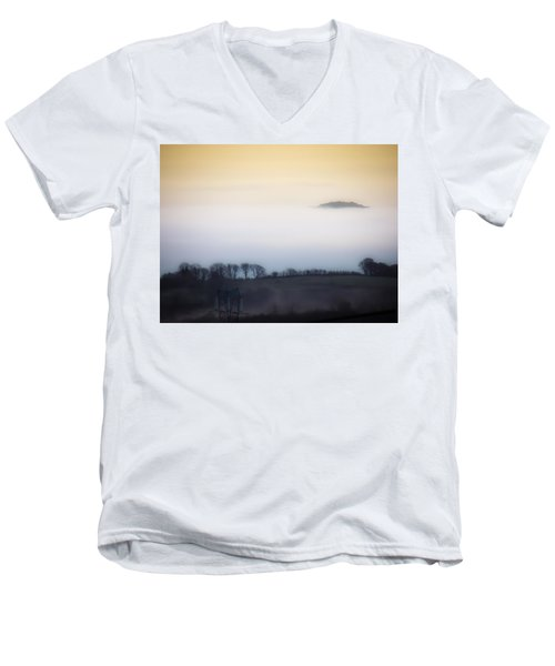 Island In The Irish Mist Men's V-Neck T-Shirt