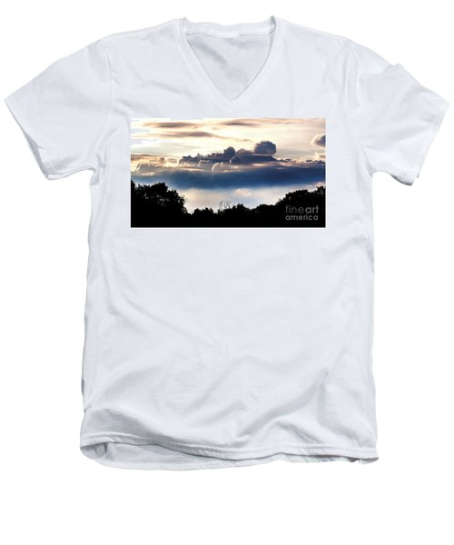 Island Of Clouds Men's V-Neck T-Shirt
