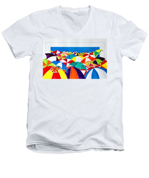 Italian Beach Men's V-Neck T-Shirt