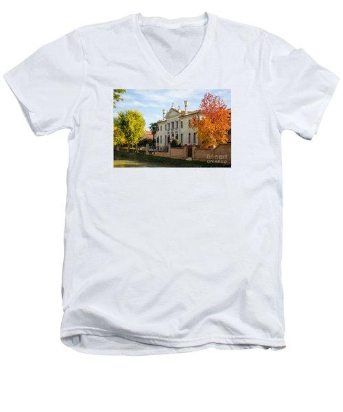 Italian Villa Men's V-Neck T-Shirt