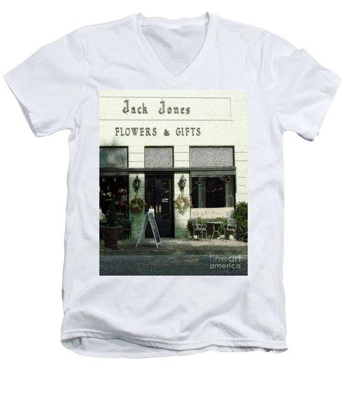 Jack Jones Men's V-Neck T-Shirt