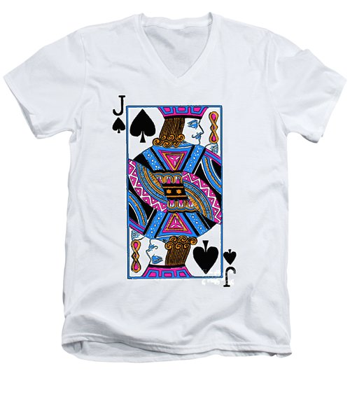 Jack Of Spades - V3 Men's V-Neck T-Shirt