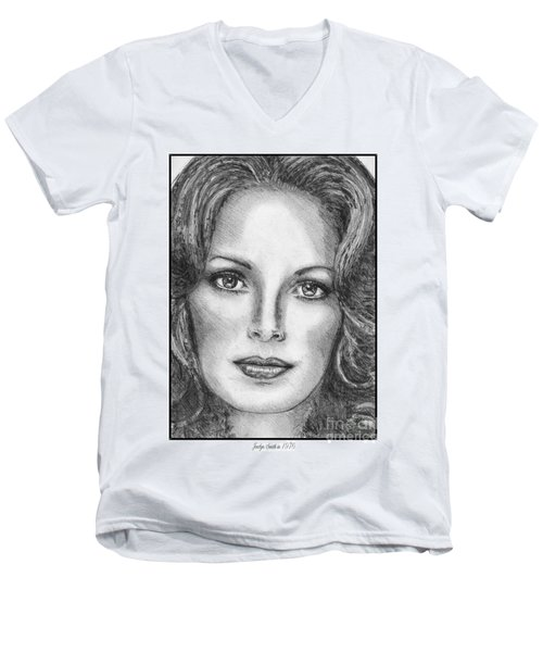 Jaclyn Smith In 1976 Men's V-Neck T-Shirt