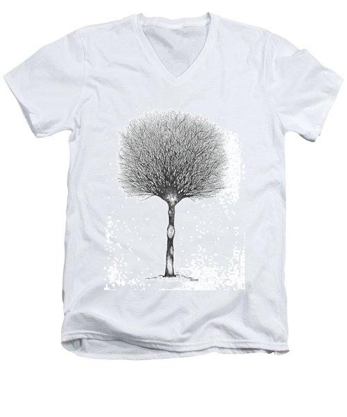 January '12 Men's V-Neck T-Shirt