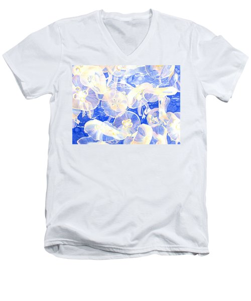 Jellyfish Jubilee Men's V-Neck T-Shirt
