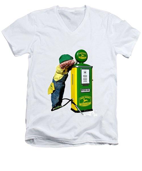 John Deere Kid Men's V-Neck T-Shirt