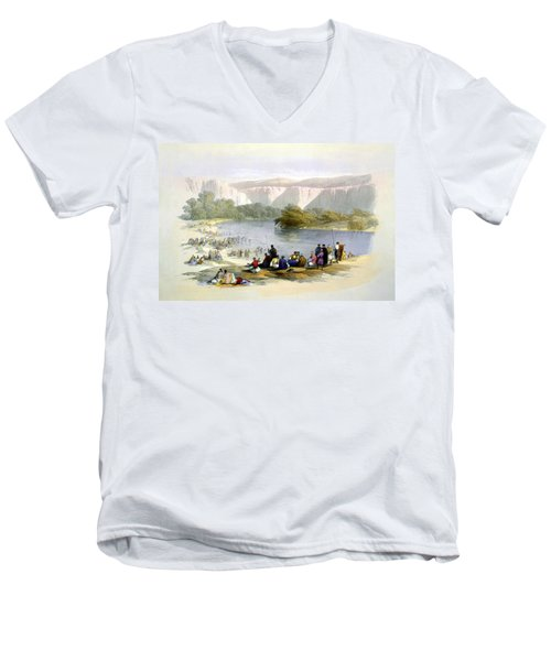 Jordan River Men's V-Neck T-Shirt