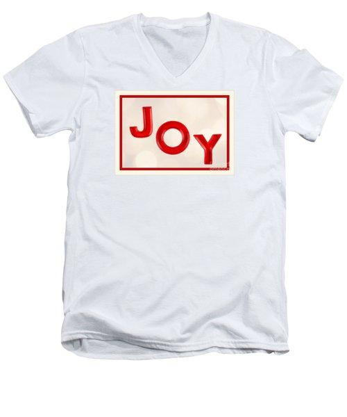 Men's V-Neck T-Shirt featuring the photograph Joy To The World by Vizual Studio