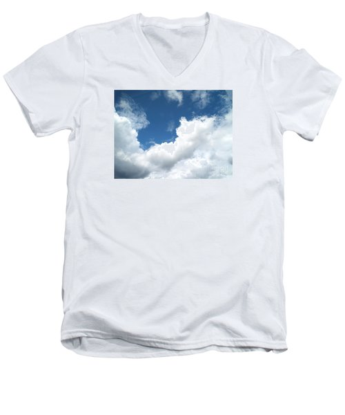 Just Breathe ... Men's V-Neck T-Shirt by Susan  Dimitrakopoulos