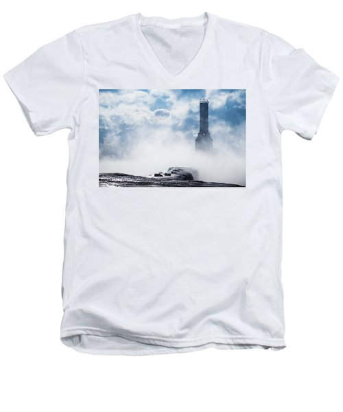 Just Cold And Disappear Men's V-Neck T-Shirt