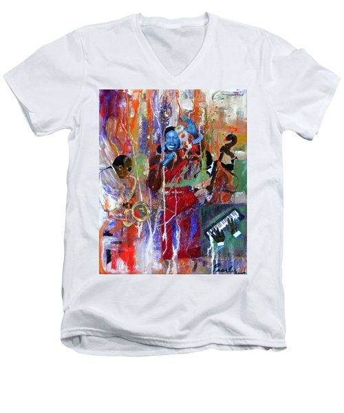 Just Jazzin Men's V-Neck T-Shirt
