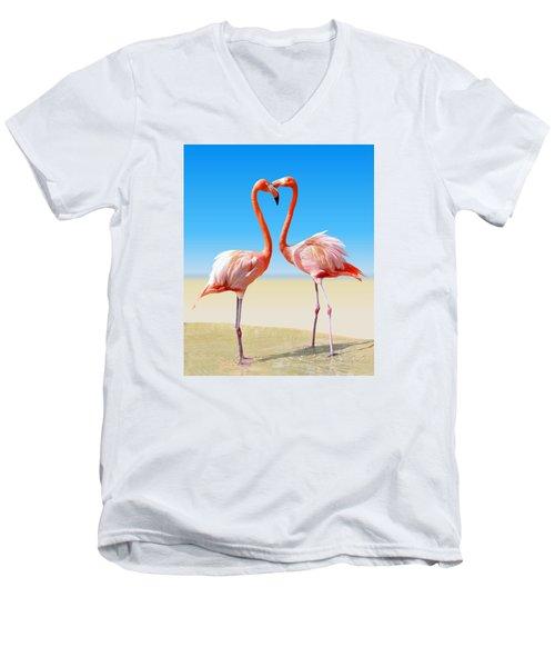 Just We Two Men's V-Neck T-Shirt