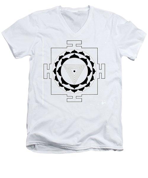 Kali Yantra Men's V-Neck T-Shirt