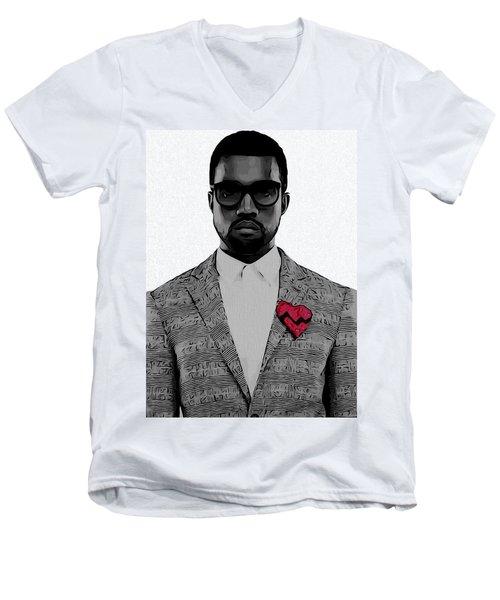 Kanye West  Men's V-Neck T-Shirt