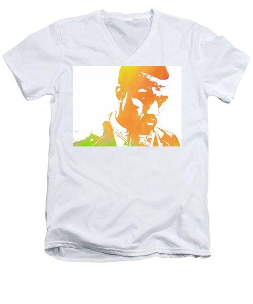 Kanye West Pop Art Men's V-Neck T-Shirt