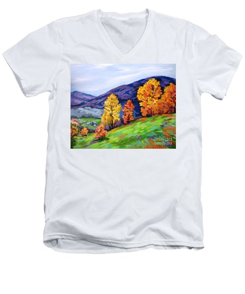 Kentucky Hillside Men's V-Neck T-Shirt