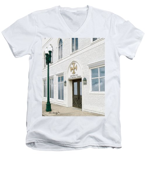 Ketchum Hall Men's V-Neck T-Shirt