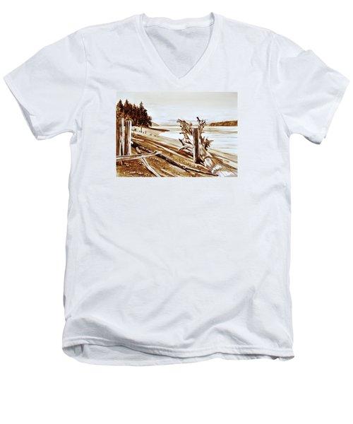 Ketron Island Men's V-Neck T-Shirt