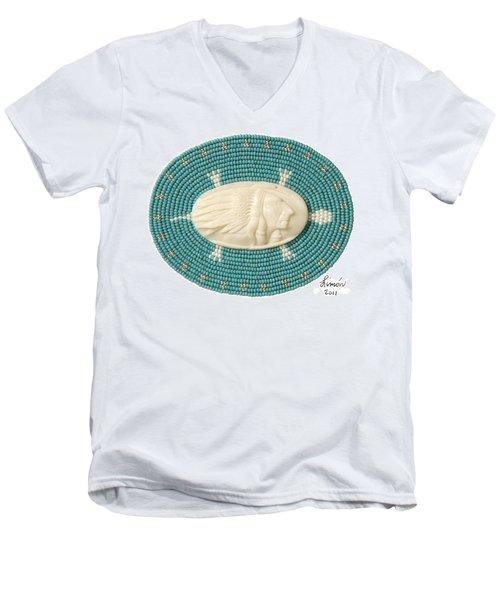 Keya Men's V-Neck T-Shirt