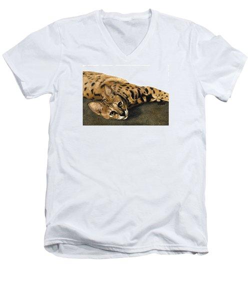 Kili Man Jaro Men's V-Neck T-Shirt