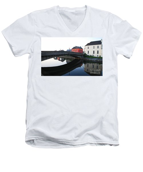 Men's V-Neck T-Shirt featuring the photograph Kilkenny by Mary Carol Story