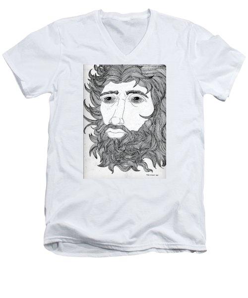 King David Men's V-Neck T-Shirt