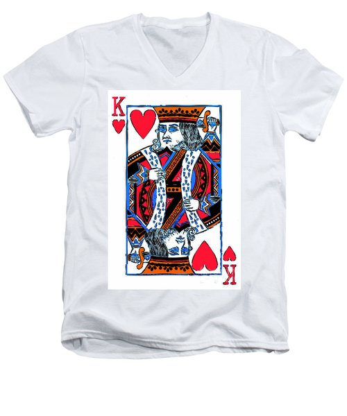 King Of Hearts 20140301 Men's V-Neck T-Shirt