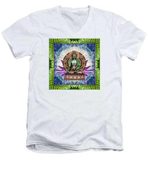 King Panacea Men's V-Neck T-Shirt by Bell And Todd