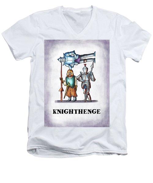 Knighthenge Men's V-Neck T-Shirt