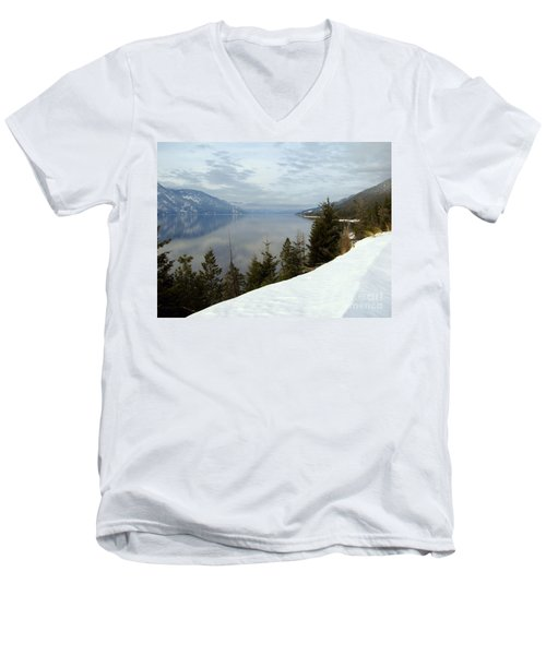 Kootenay Paradise Men's V-Neck T-Shirt