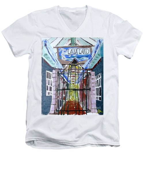 La La Land  Men's V-Neck T-Shirt