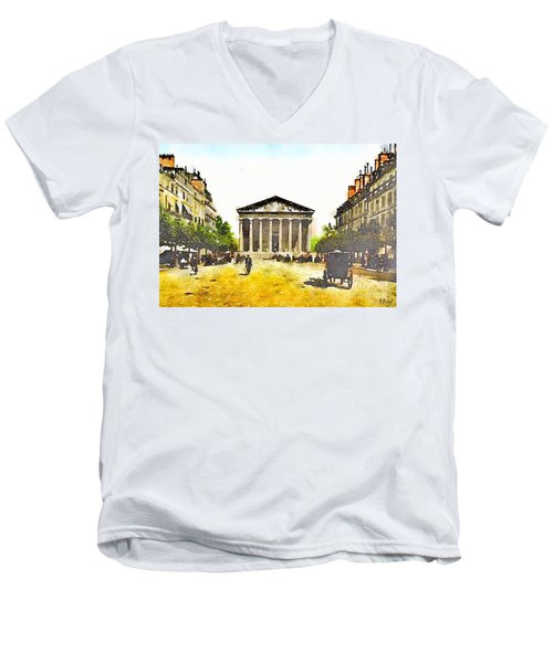 La Madeleine 1890 Men's V-Neck T-Shirt