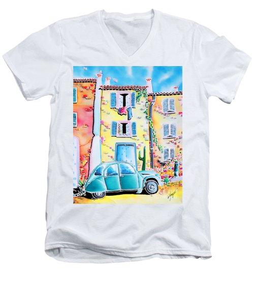 La Maison De Copain Men's V-Neck T-Shirt
