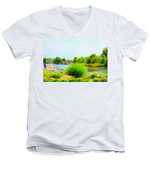 Lagoon  Men's V-Neck T-Shirt