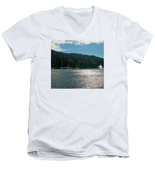 Lake Gregory Men's V-Neck T-Shirt