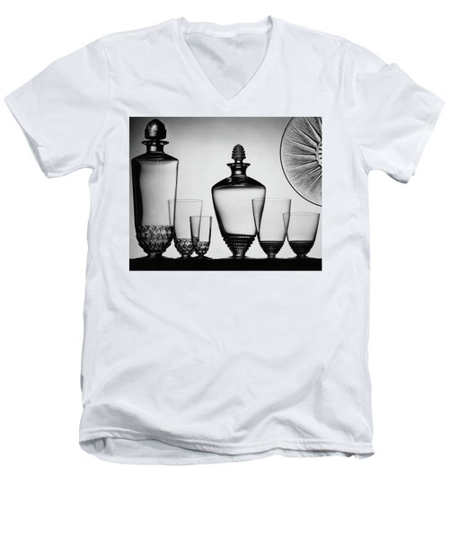 Lalique Glassware Men's V-Neck T-Shirt